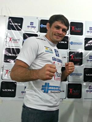 Rodrigo Damm, peso-pena do UFC (Foto: Richard Pinheiro/Globoesporte.com)