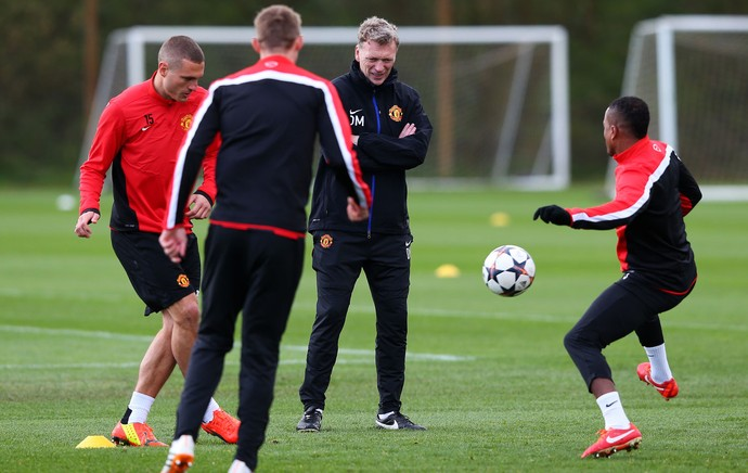 Manchester United treino David Moyes (Foto: Getty Images)
