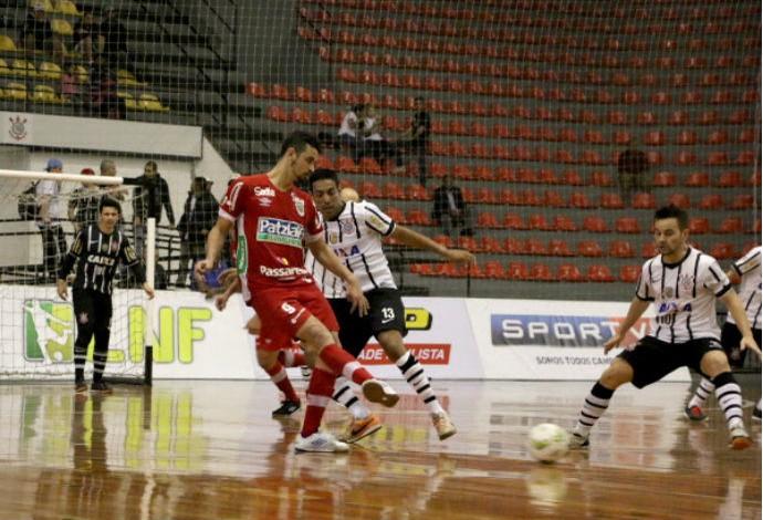 Corinthians Concórdia Liga Nacional de Futsal (Foto: Yuri Gomes/Divulgação)