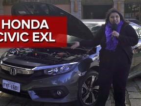 Honda Civic EXL 2017: primeiras impressões