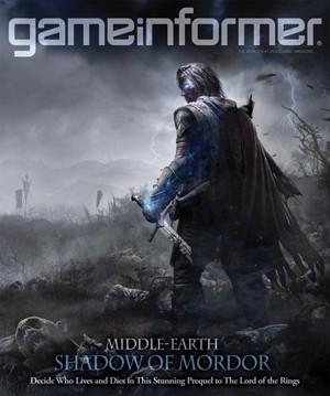 Capa da revista 'Game Informer' sobre o game 'Middle-earth: Shadow of Mordor' (Foto: Divulgação/Game Informer)
