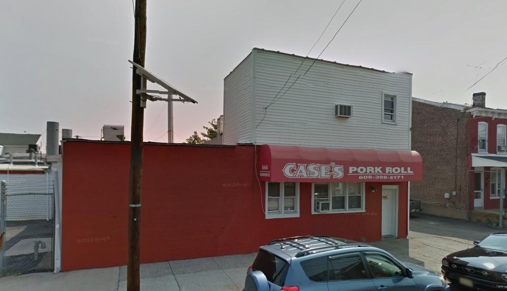Fábrica da Case's Pork Roll Company, em Trenton