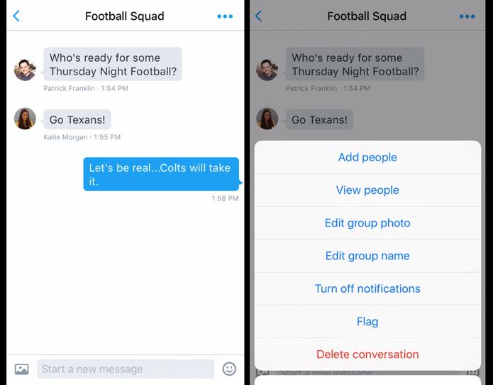 Grupos de mensagens diretas podem ter imagens customizadas (Foto: Reprodução/Twitter)