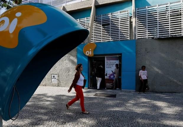 Sede da operadora Oi, no Rio de Janeiro. (Foto: Sergio Moraes/Reuters)