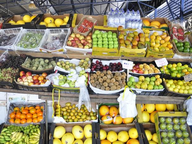 Mercado do Porto em Cuiabá (Foto: Rayane Alves/G1)