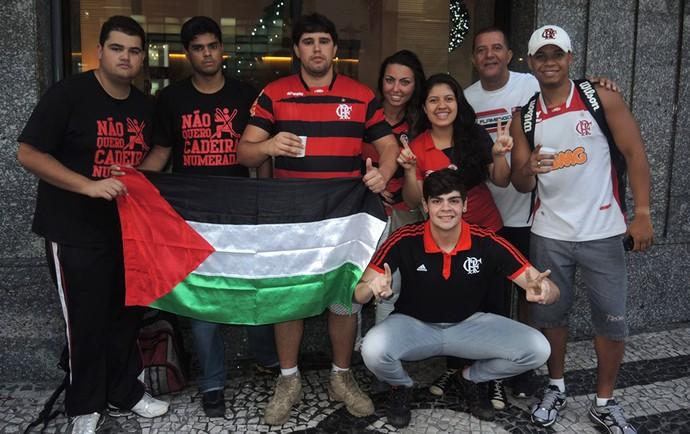Torcedores Flamengo x Atlético-PR (Foto: Cahê Mota)