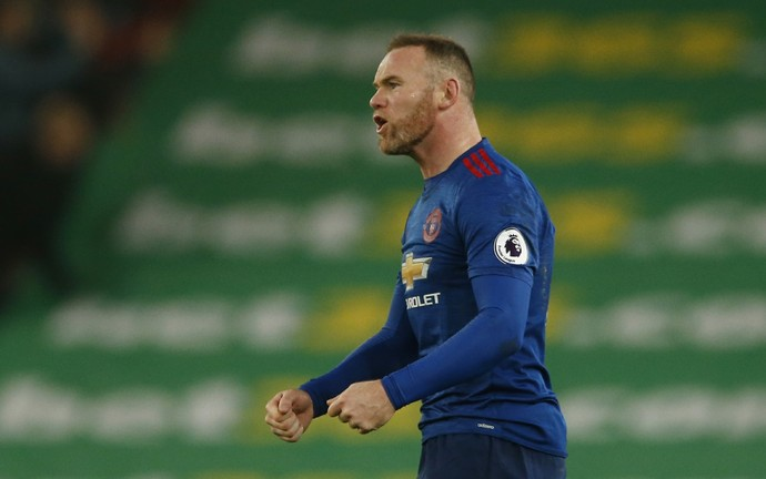 Wayne Rooney Stoke City Manchester United (Foto: Reuters)