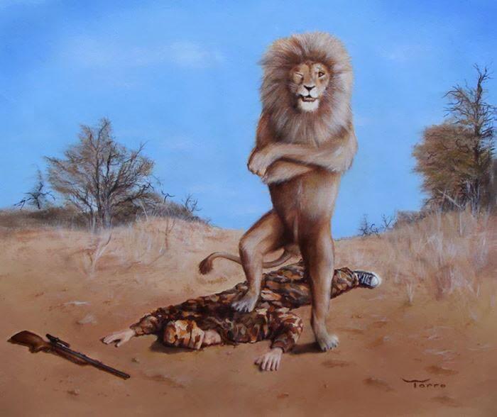 Ilustração feita por Larry Torro (Foto: Reprodução)