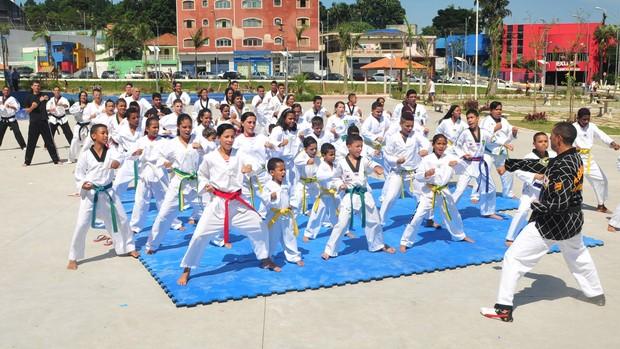 Taekwondo Copa Ferraz de Vasconcelos (Foto: Divulgação / Prefeitura de Ferraz de Vasconcelos)