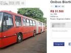 Primeiros ônibus 'Vermelhões' de Curitiba são vendidos pela internet
