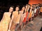 Grife Andrea Marques desfila no último dia de Fashion Rio