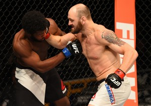 Zak Cummings e Dominique Steele UFC Chicago (Foto: Getty Images)