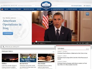 Obama faz pronunciamento neste sábado (9) (Foto: Reprodução/White House)