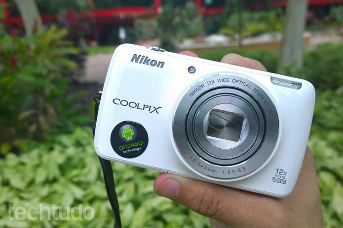 Lente da Nikon Coolpix S810c proporciona bom foco no primeiro plano (Foto: Lucas Mendes/TechTudo)