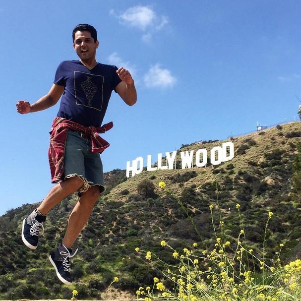 Gente, as aventuras em Hollywood estão apenas começando, brincou nas redes sociais (Foto: Reprodução/ Instagram)
