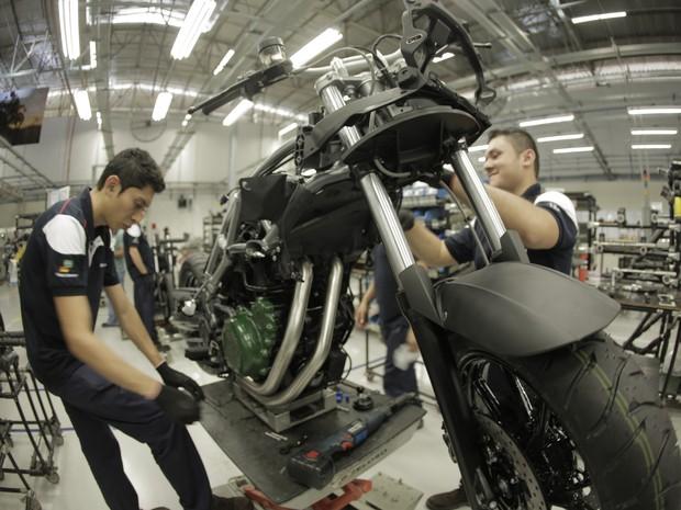 BMW inaugura fábrica de motos em Manaus (Foto: Divulgação)
