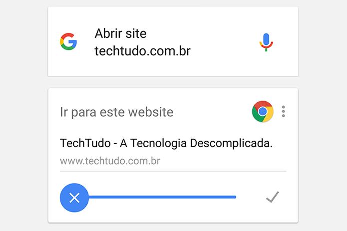 Google deixa pesquisa por voz mais rápida no Android e iOS (Foto: Reprodução/Paulo Alves)