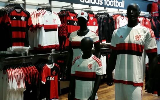 Loja do Flamengo (Foto: Divulgação)