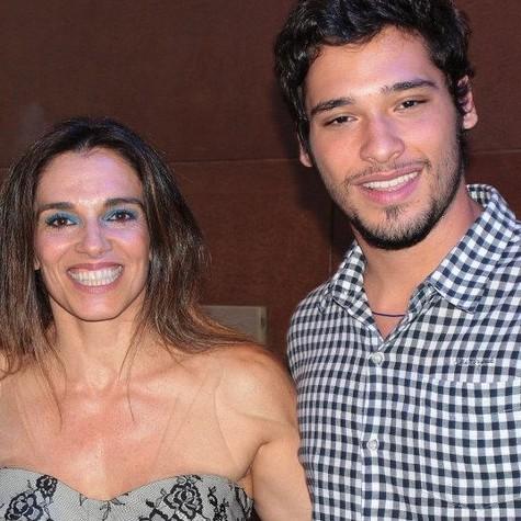 Mara Carvalho e Bruno Fagundes (Foto: Reprodução da internet)