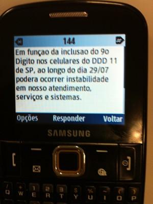 Usuários da TIM poderão ter problemas com nono dígito (Foto: G1)