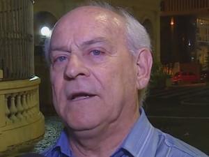 Diretor do São Pedro aguarda liberação para esta quinta-feira (Foto: Reprodução/RBS TV)