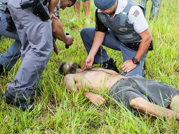 Homem teve um mal súbito após um susposto assalto em Franca (Foto: Rafa Mendes/ Arquivo Pessoal)