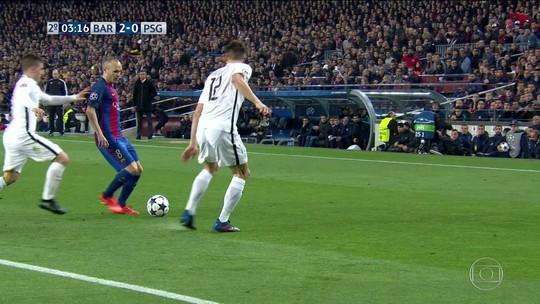 Uefa multa Barcelona em 19 mil euros por invasão de campo no 6 a 1 contra o PSG