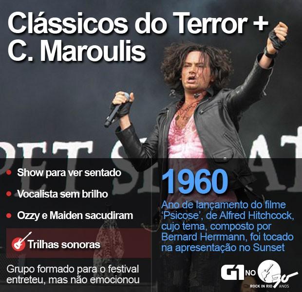 Selo Clássicos do Terror (Foto: Luciano Oliveira/G1)