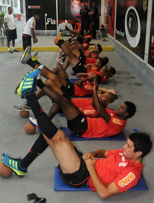 Flamengo treino (Foto: Alexandre Vidal / Fla imagem)