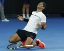 """Em vantagem contra Federer, Nadal diz: """"É um jogo diferente, é especial"""""""