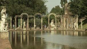 Villa Adriana, construída no século 2, é considerada uma obra-prima arquitetônica (Foto: Reprodução/ BBC)