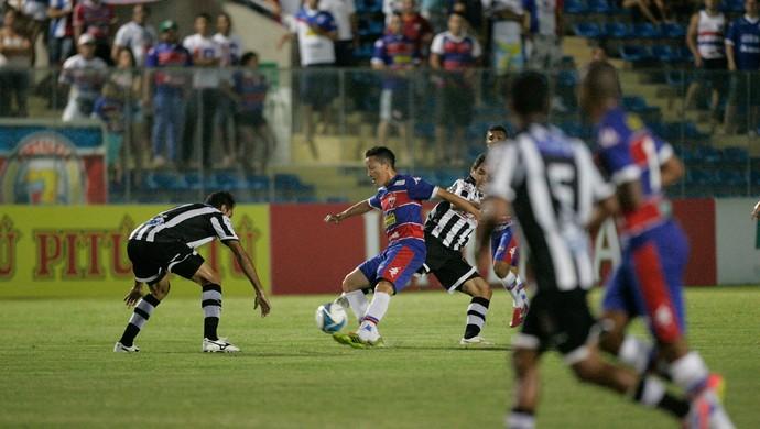 Fortaleza x Botafogo-PB Copa do Nordeste PV (Foto: Bruno Gomes/Agência Diário)
