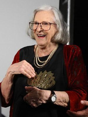 Em março de 2012, A atriz Barbara Heliodora é homenageada pelo exercício da crítica teatral ao longo de mais de 50 anos (Foto: Marcos de Paula/Estadão Conteúdo/Arquivo)