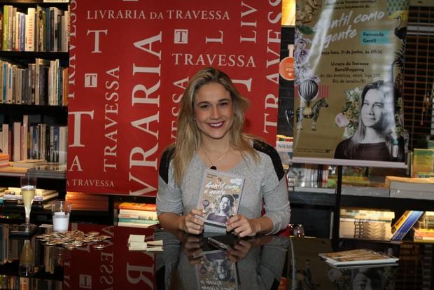 Fernanda Gentil (Foto: Anderson Barros / Ego)