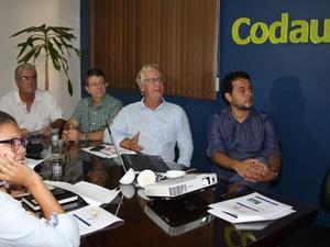 Codau Uberaba coletiva de imprensa novembro 2015 (Foto: Codau/ Divulgação)