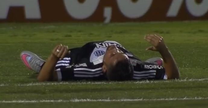 Felipe Azevedo atacante Ponte Preta (Foto: Reprodução / EPTV)