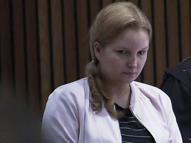 Elize Matsunaga é julgada pela morte do marido (Foto: TV Globo/Reprodução)