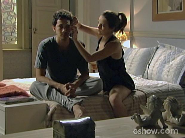 Ben revela seu plano para Anita (Foto: Malhação / TV Globo)