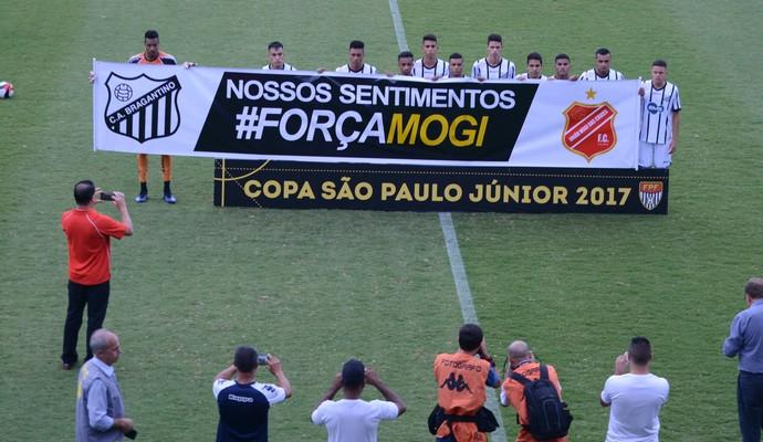 Bragantino x Trindade-GO Copa São Paulo de Futebol Júnior (Foto: Cairo Oliveira)
