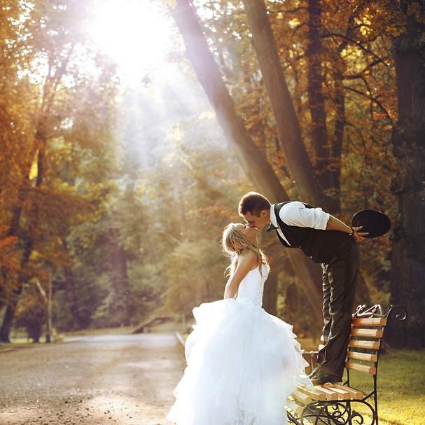 O dia mais feliz da sua vida pede o vestido mais incrível de todos, né!? (Foto: Thinkstock)