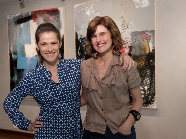 A Mulher No Cinema: Simone Zuccolotto e Ingrid Guimares (Foto: divulgao)