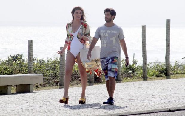 """Cristiana Oliveira e Duda Nagle gravam """"Svalve Jorge"""" (Foto: Gabriel Rangel / AgNews)"""