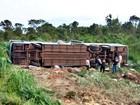 Sobe para 11 número de passageiros mortos em acidente com ônibus