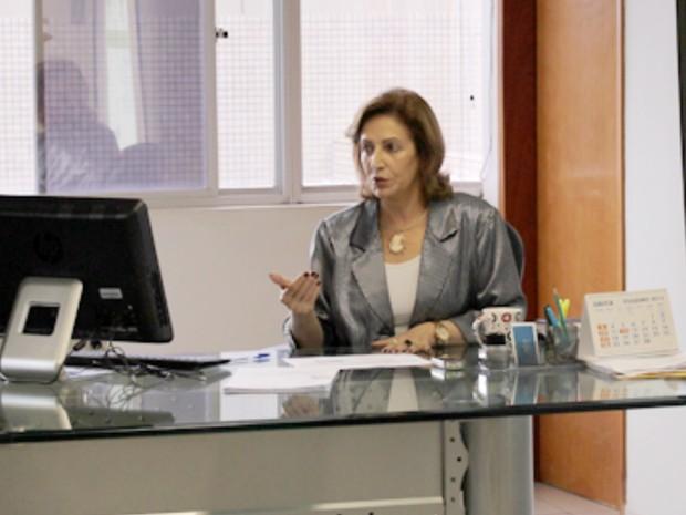 Marlene Alves de Carvalho e Vieira, que é atual presidente da GoiásPrev, foi nomeada presidente da Saneago em Goiânia, Goiás (Foto: Reprodução/GoiasPrev)