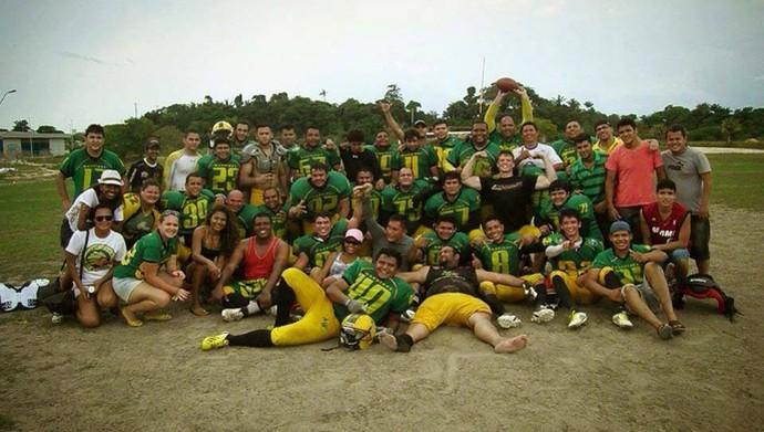 Ajuricaba Warriors Manaus (Foto: Divulgação/Ajuricaba Warriors)