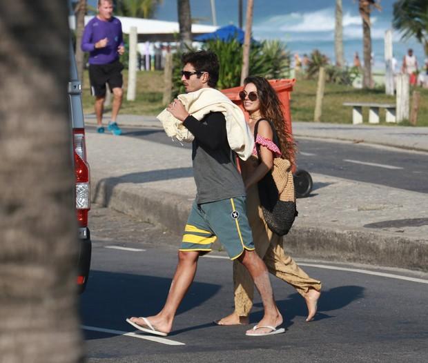 Isis Valverde e André Resende (Foto: Dilson Silva/AgNews)
