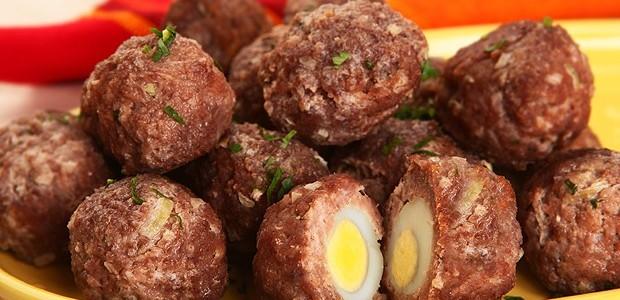 Bolinho de carne com ovo (Foto: Divulgação/Unilever)