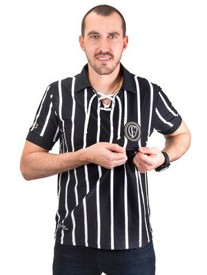8ac59e1bee Corinthians lança camisa centenária em homenagem a modelo de 1915