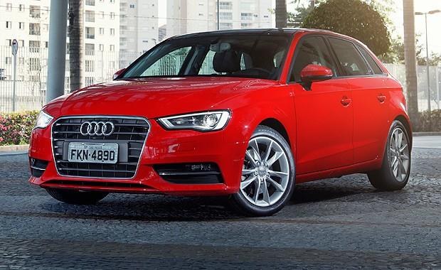 Audi A3 (Foto: Fabio Aro/Autoesporte)