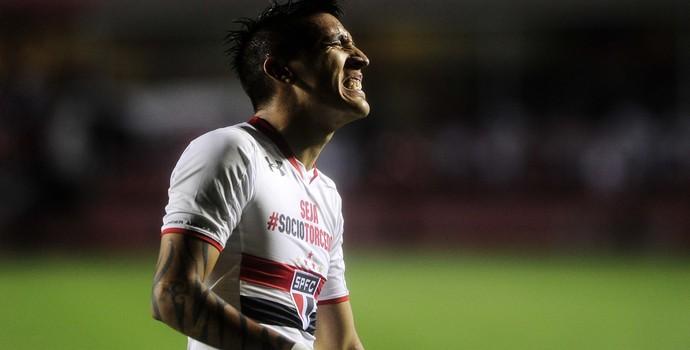 Centurión São Paulo x Goiás Campeonato Brasileiro 2015 (Foto: Marcos Ribolli)